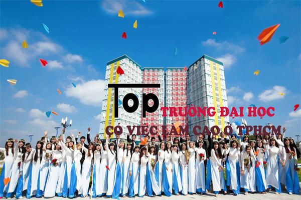 Top những trường đại học có việc làm cao tại TPHCM